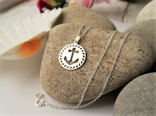 Symbolic Anchor necklace