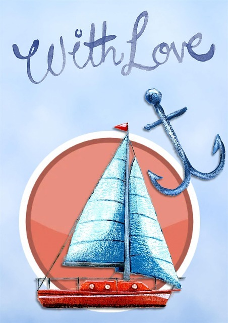Anchor gift with love