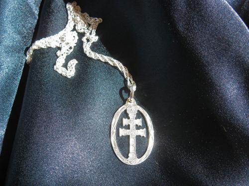 Caravaca cross necklace
