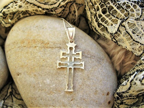 Caravaca cross silver