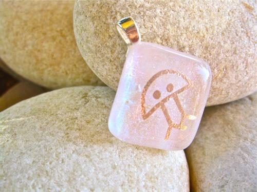 Eternity necklace pendant