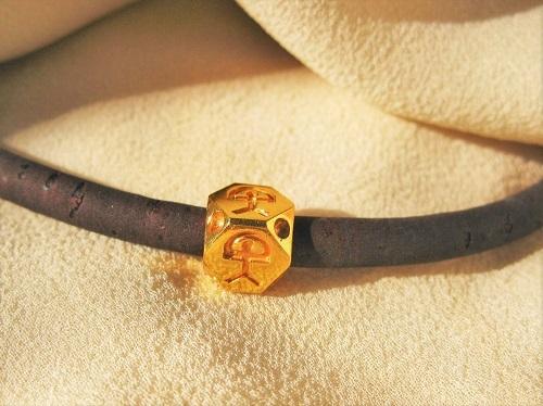 Indalo Man bead bracelet