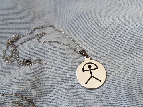 Indalo Man pendant necklace