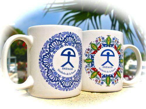 Mugs with Indalo