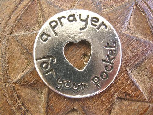Prayer pocket token