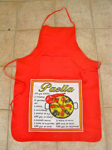 Spanish apron gift