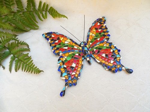 Spanish ceramics butterfly
