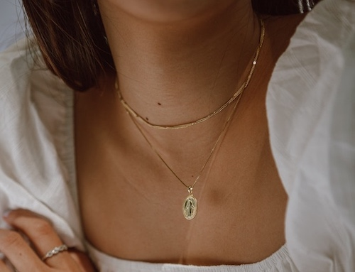 Protection jewellery necklace