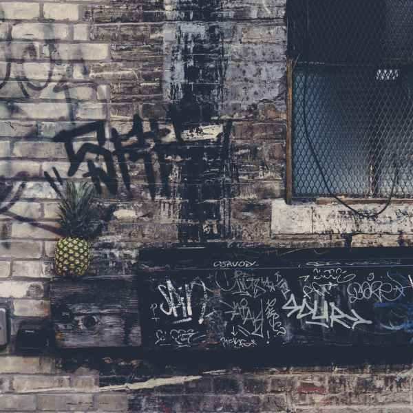pineapple on wall decor