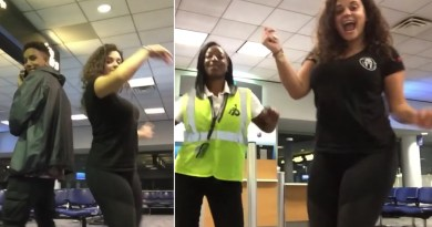 Woman Dances All Night Long With Airport Strangers After Missing A Flight And Getting Stranded