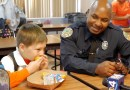 Cops Attend 'Take Your Dad To School' Event For Boy Whose Father Died