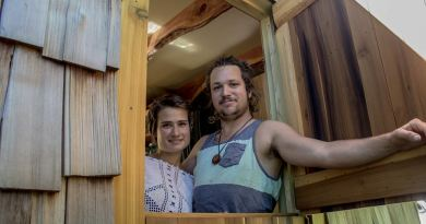Creative couple spent six months building their ideal home …and it's absolutely tiny