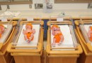 Hospital workers dress newborns up as pumpkins for Halloween