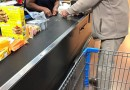 Walmart Cashier Helps Calm A Nervous Elderly Man Paying With Change