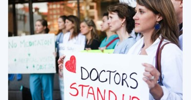 Hundreds Of Doctors In Canada Are Protesting. They Say They Make Too Much