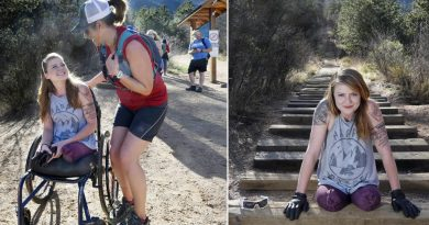 Double amputee crawls up Colorado's 2,700-step Manitou Incline