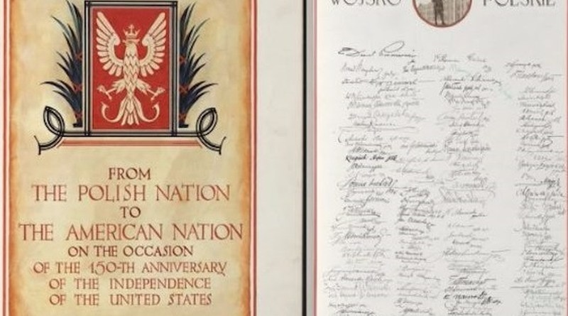 Poland Once Gave America a Birthday Card That Was Signed By 5.5 Million Polish People