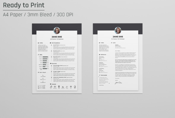 Free Resume CV Design Template   Cover Letter In DOC  PSD  AI   INDD         Free Resume CV Design Template   Cover Letter In DOC  PSD
