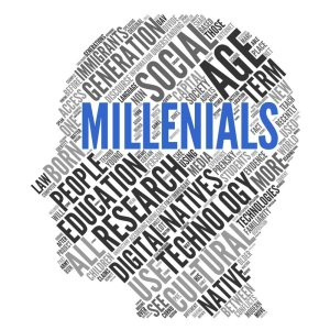 use of social media by millennials at law firms