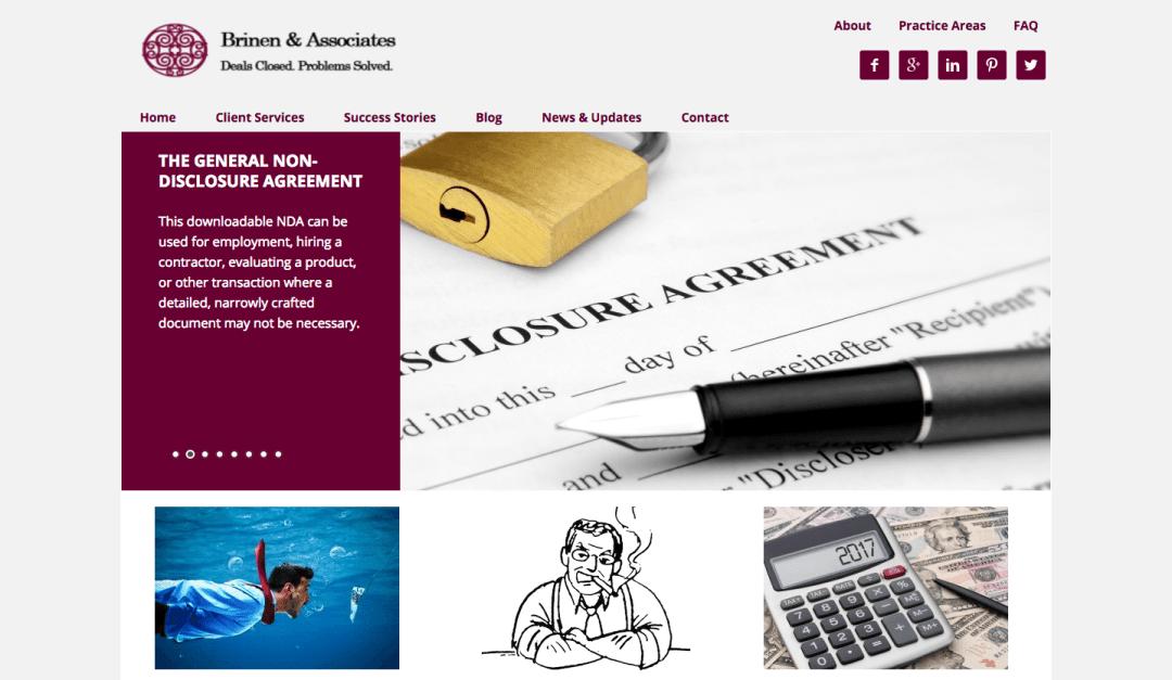 Brinen & Associates websites