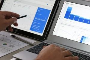 custom reports on google analytics