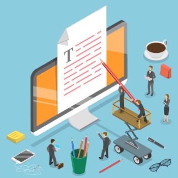 republishing law firm blog