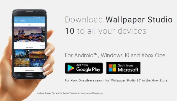 Wallpaper Studio 10 is now available on Android - backiee ...