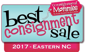 Good 2 Grow Kids Consignment Sale voted 2017 BEST Consignment Sale Eastern NC!