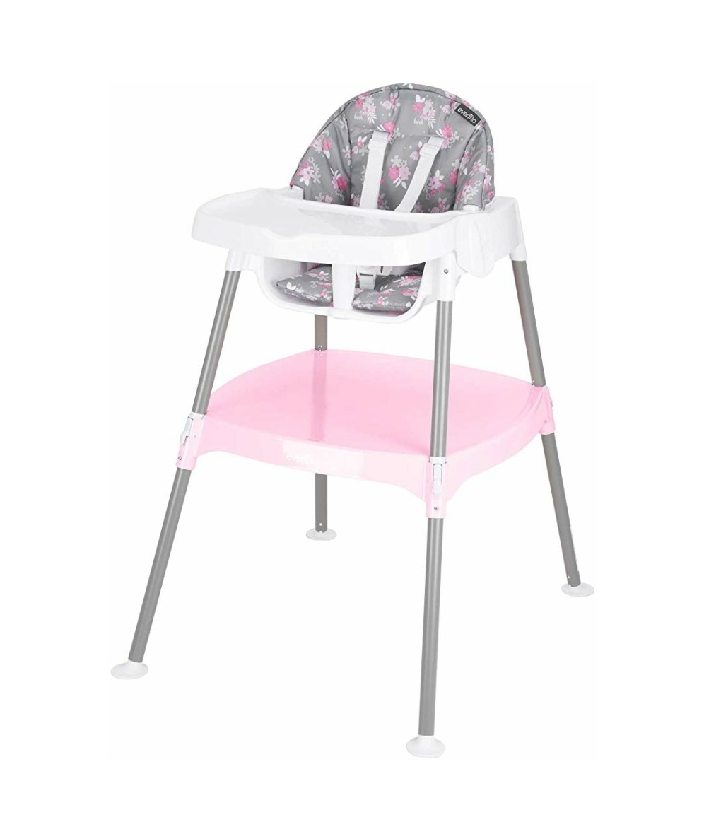 Evenflo 4-in-1 Convertible High Chair – Poppy
