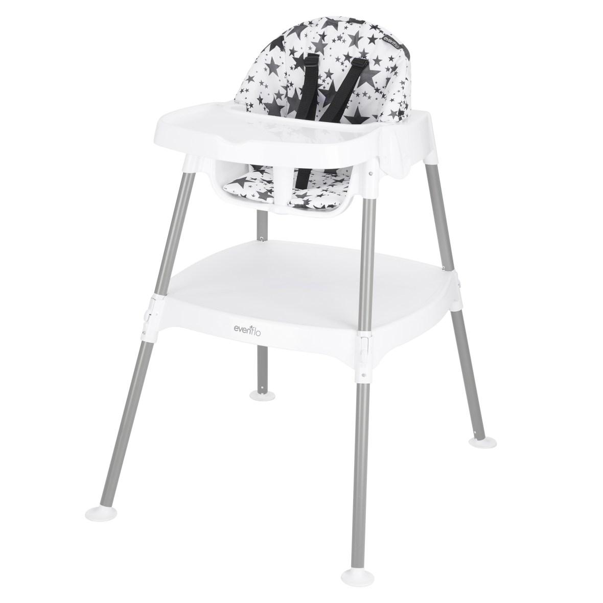 Evenflo 4-in-1 Convertible High Chair- Pop Star