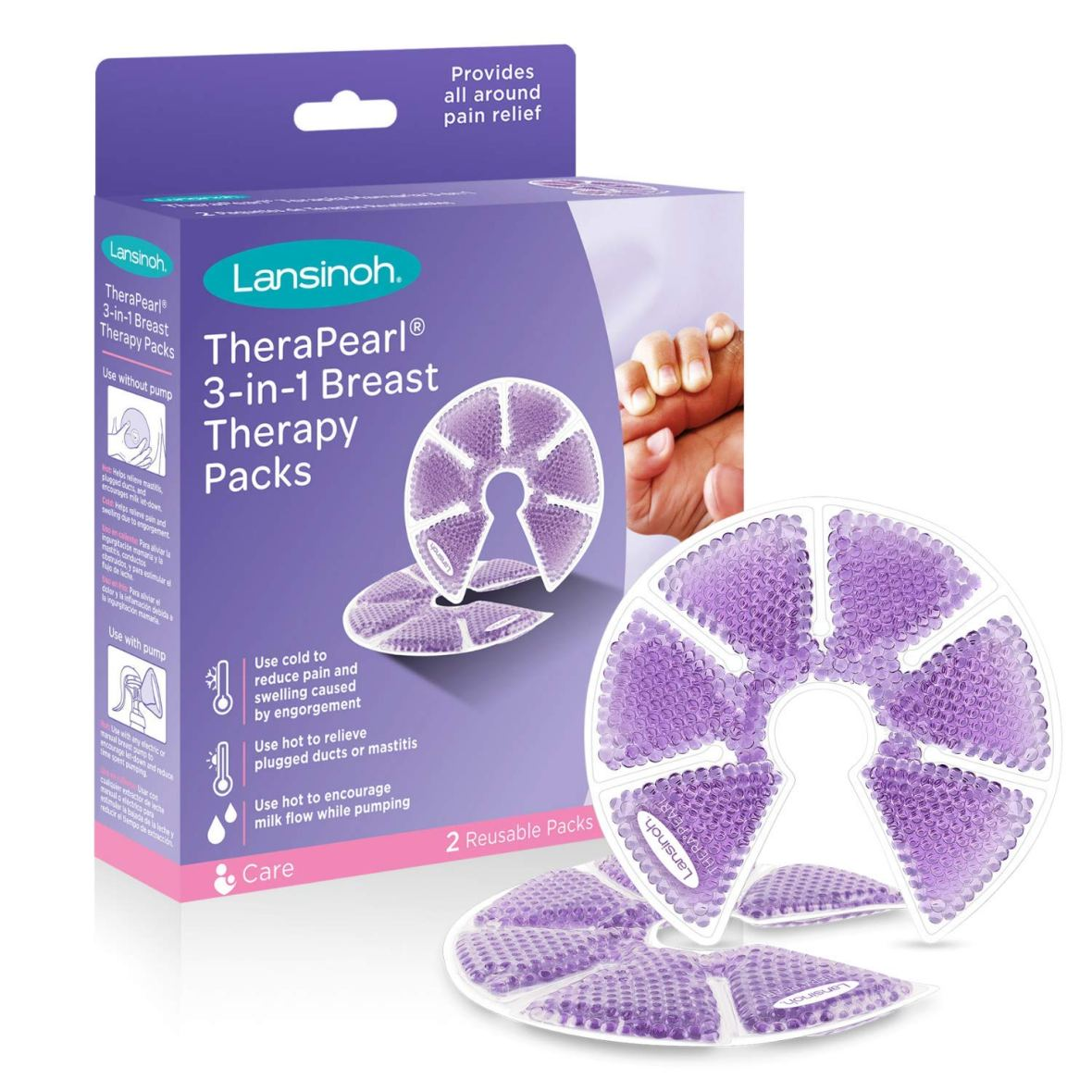 Lansinoh Cool/Warm Breast Therapy Pack