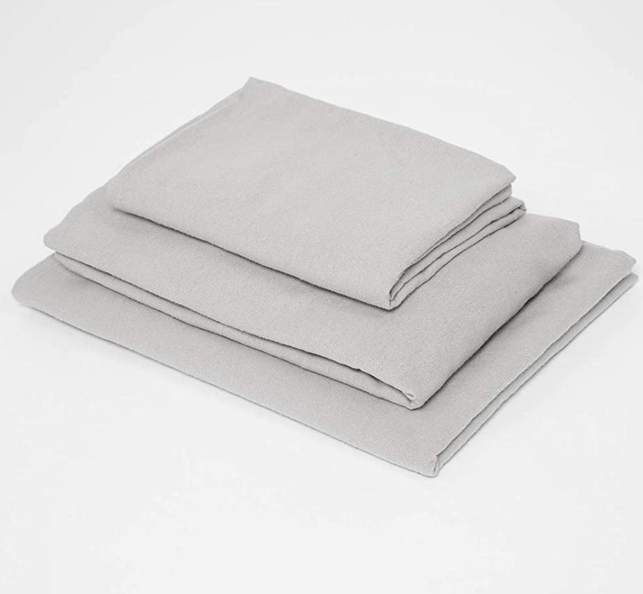 3pc Toddler Bed Sheet Set – Grey