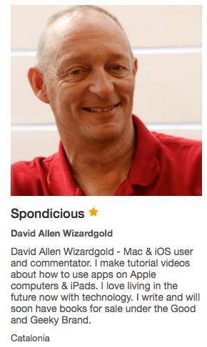 AudioBoom David Allen Wizardgold Spondicious