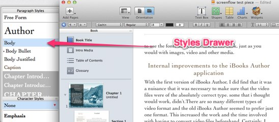 How to use iBooks Author