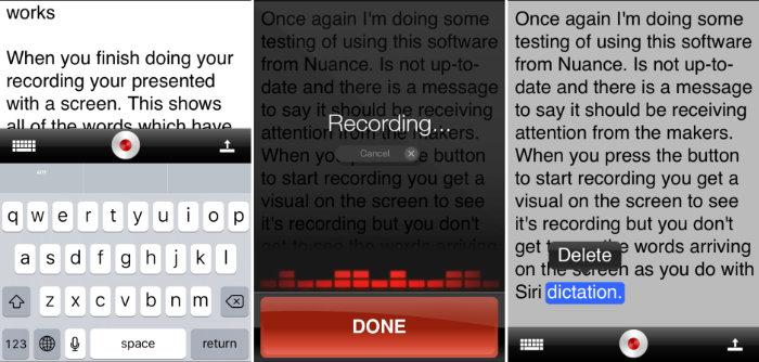 Dragon Dictation iOS