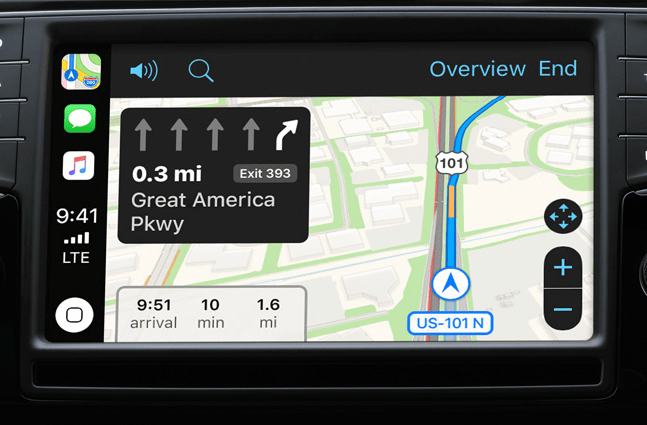 Apple CarPlay Maps