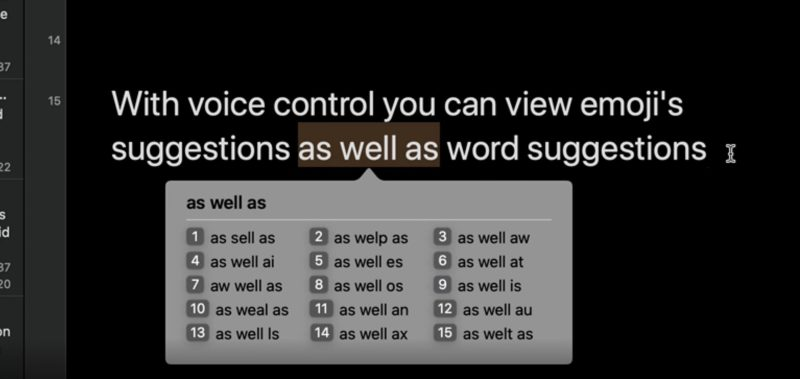 Using Voice Control