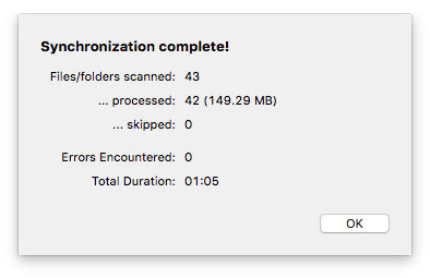 Using ChronoSync Express