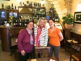 Meeting the lovely mamma & daughter from Lilly Club where mangiare bene local cuisine