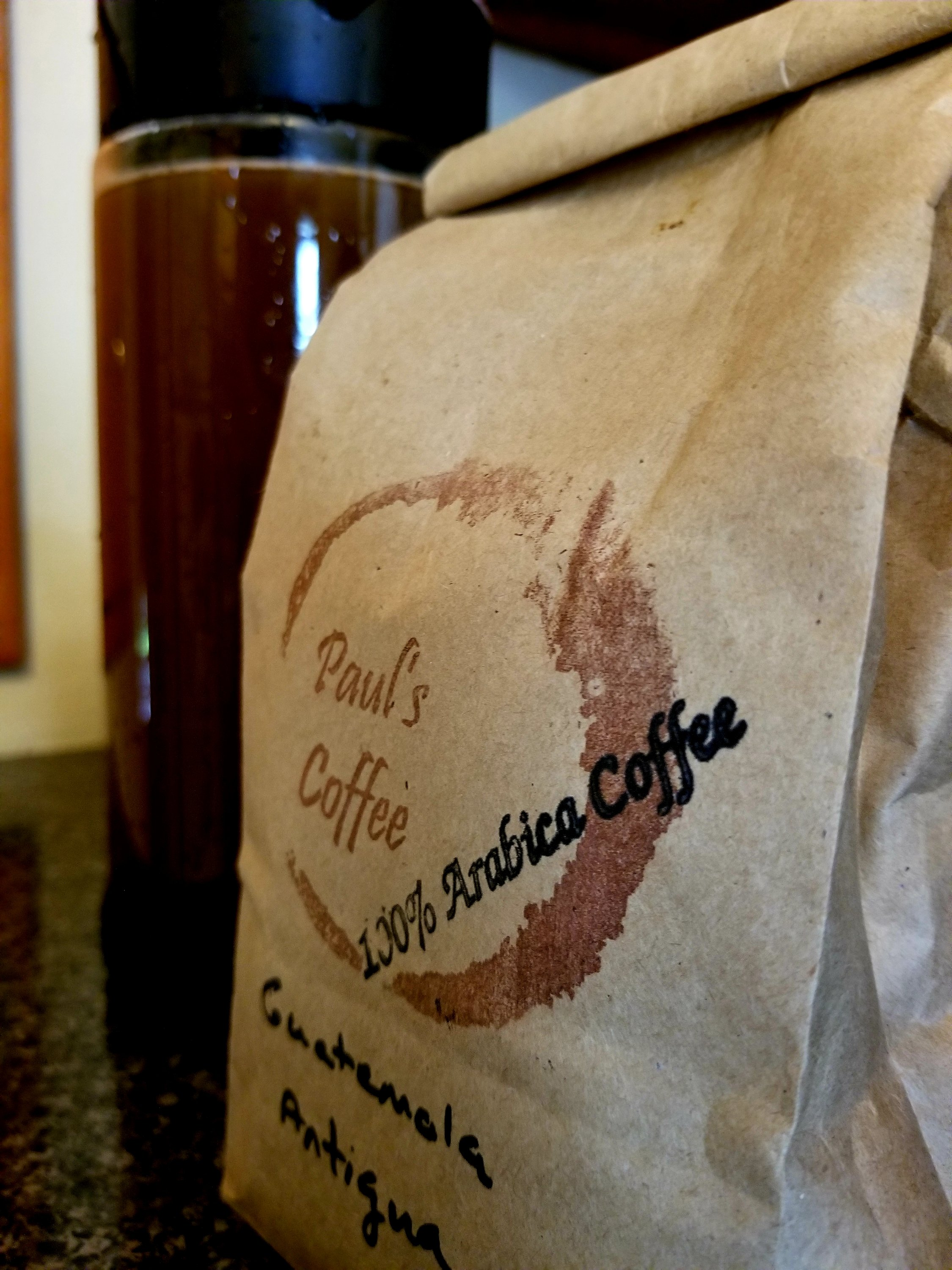 Good Coffee, From a Farmers Market!