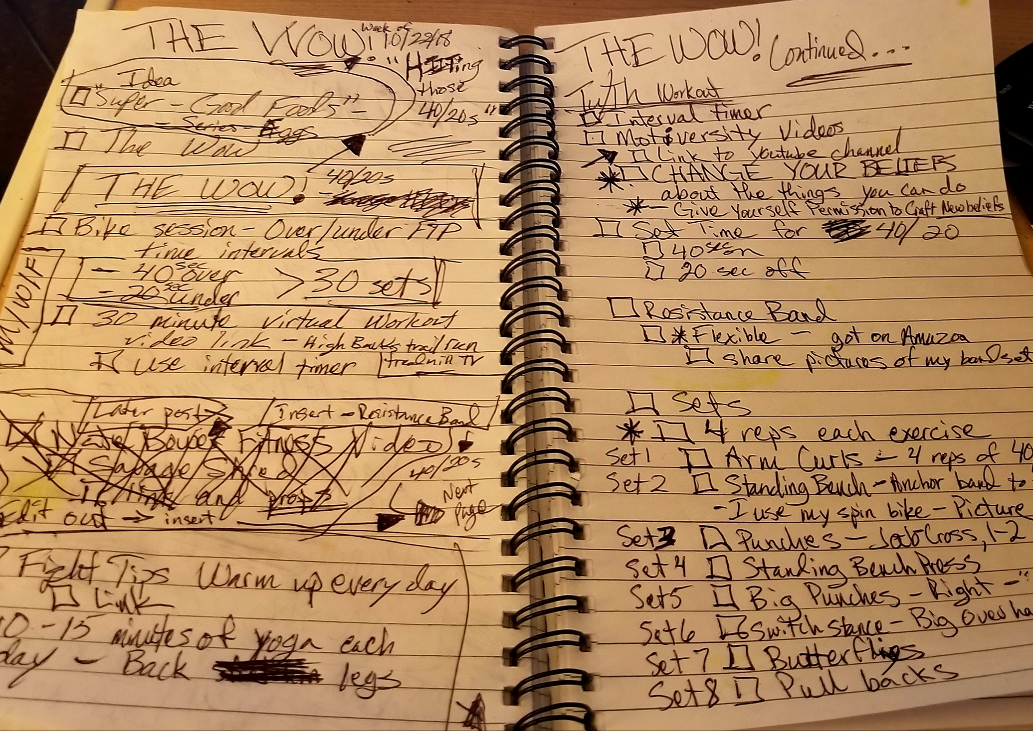 The WOW! – Workout of the Week – HIITing those 40/20s