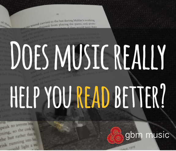Does Music really help you read better?