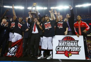 Louisville won the NCAA national title in 2013.
