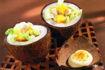 салат из индейки с манго