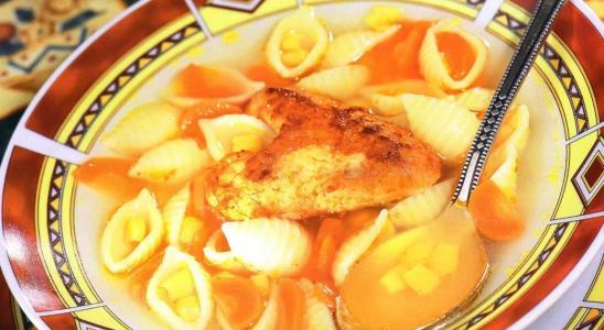 суп солоники