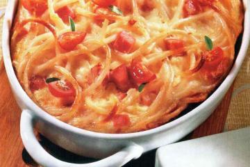 Запеченные макароны с сыром