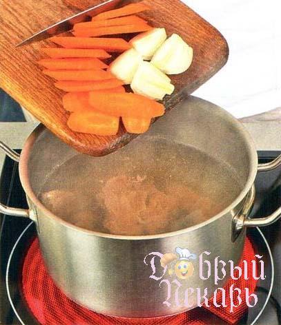 Солянка с печеным перцем приготовление