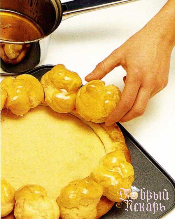 торт сент-оноре приготовление 4