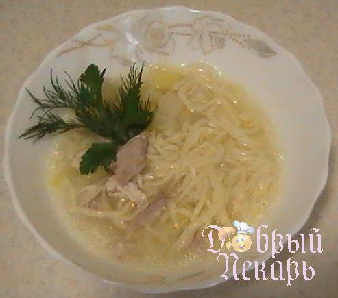 домашний суп лапша из курицы
