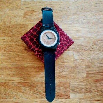 Houten horloge GoodBeer met doosje